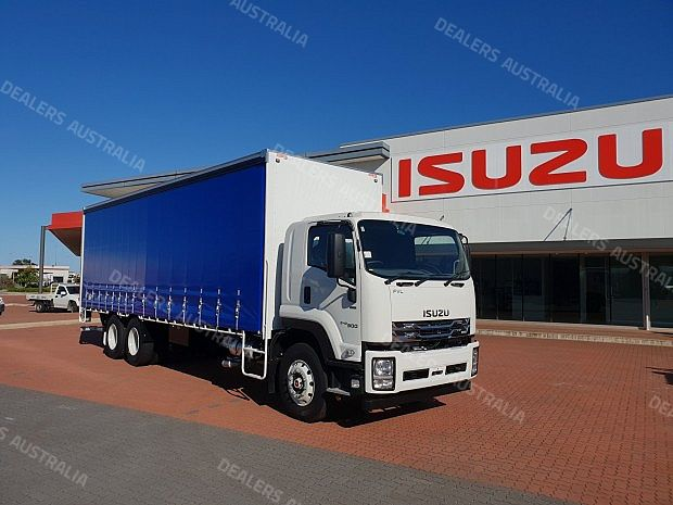 2018 Isuzu Fvl 240 300 Curtainsider Wa For Sale Truck Dealers Australia