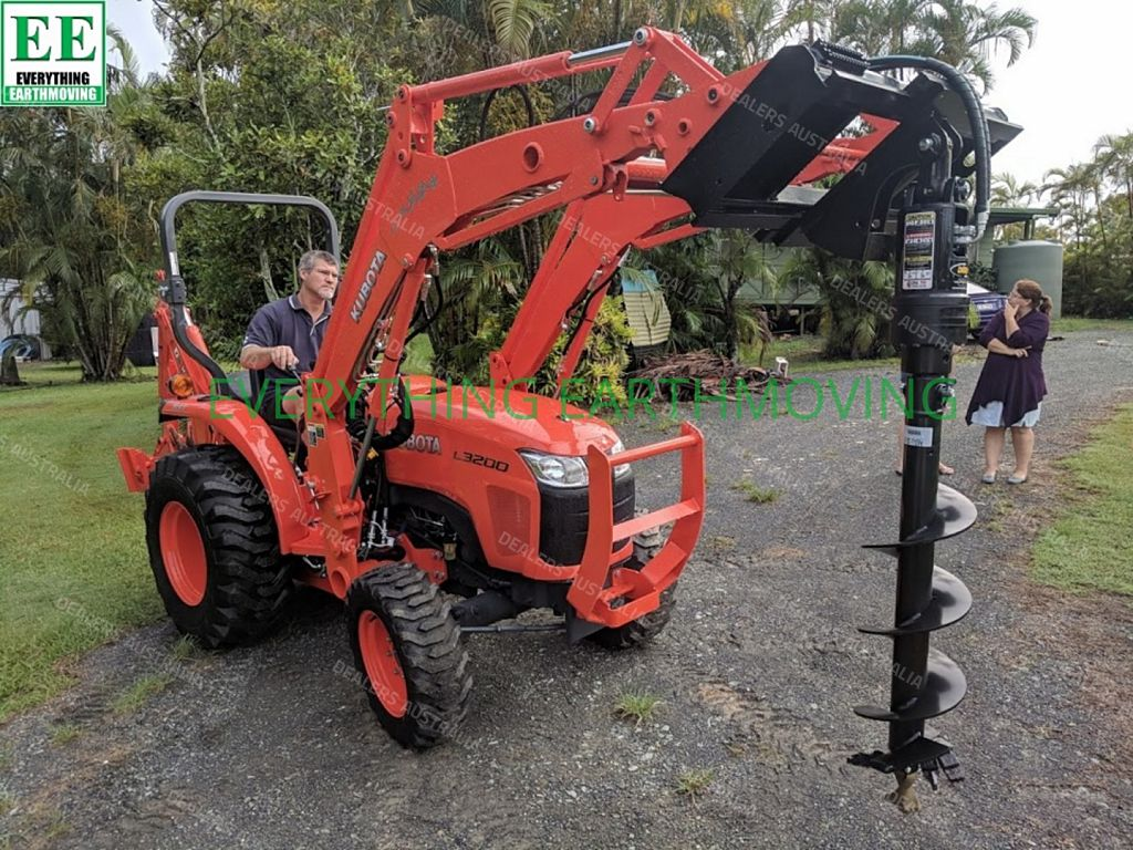 Tractor Post Hole Digger - EVERYTHING EARTHMOVING for sale