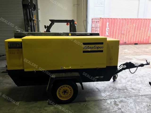 2001 Atlas Copco Xas 146 Air Compressor For Sale In Qld