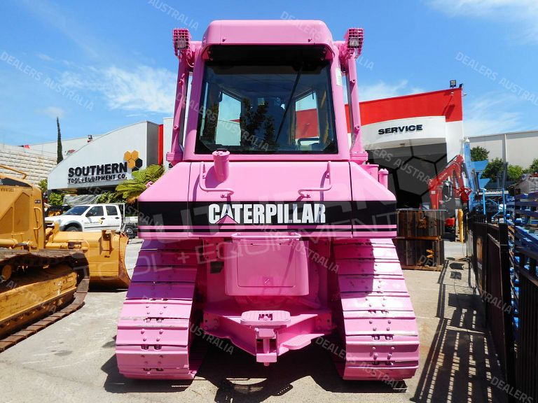 Caterpillar D5N D5M Draw Bar in Pink for sale in QLD #D5N